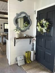 decorate narrow entryway hallway entrance. Organized \u0026 Decorated Entry Like The Dark Door And Overall Colors! Decorate Narrow Entryway Hallway Entrance