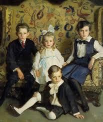 harrington mann a family portrait of four children