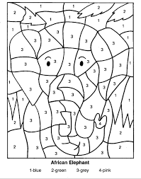 Small Picture Number Coloring Pages 10 Coloring Kids