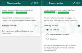 How To Change Your Phone Number How To Change Whatsapp Phone Number