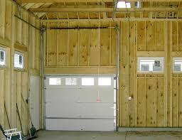 high lift garage doorCustom Garage Features  Blue Sky Builders