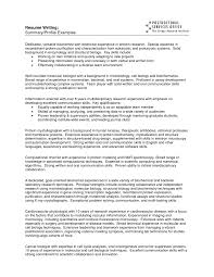 agreeable profile summary of resume about how to write a summary ...