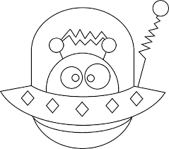 Small Picture alien coloring pages for kids Google Search Aliens Pinterest
