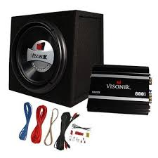 visonik vba watt car subwoofer box amplifier amp kit visonik vb10a 600 watt 10 car subwoofer box amplifier amp kit package by visonik 89 99 take the guesswork out of adding bass to your vehicle