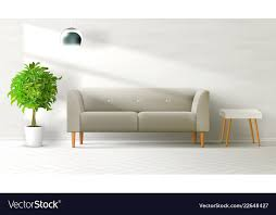 livingroom interior clean wall with