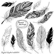 feather: лучшие изображения (13) | Татуировка перо, Татуировки ...