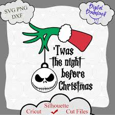 2299 christmas vectors & graphics to download christmas 2299. Twas The Night Before Christmas Svg Disney Christmas Svg Cricut Shirt Craft100days On Artfire