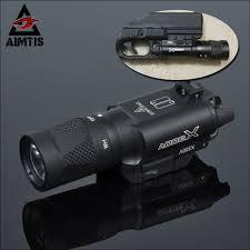Tac Lights Us 57 83 48 Off Aimtis X300 X300v Flashlight Tactical Strobe Light Tac Handgun Scout Flashtorch Pistol Weapon Light Rail Mount Ar Rifle In Weapon