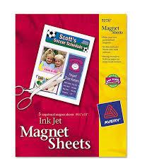 avery inkjet magnet sheets pack roadtrippin  avery inkjet magnet sheets 5 pack · save the date