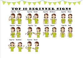 Baby Sign Language Chart Template Adorable Baby Sign Language Chart Template Simple Resume Examples For Jobs
