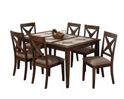 tri tile 5pc dining set expandable dining tabledining room