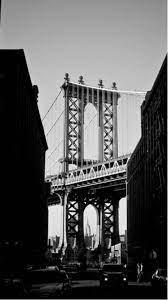 Manhattan Bridge New York Black And ...