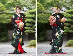 wedding kimonos which is which and for whom? (part 1) overseas Wedding Kimono Male hikifurisode is the latest addition to the collection of japanese bridal kimonos it's the least formal out of the three, and like irouchikake, wedding kimono for sale