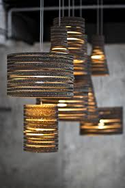 funky lighting ideas. Tabitha Bargh Lampshades Made With Recycled Cardboard Funky Lighting Ideas R