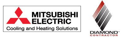 mitsubishi electric cooling and heating logo. logo 2 mitsubishi electric cooling and heating r