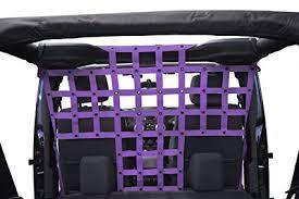 pet divider behind front seats for jeep jku 4 door purple