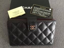 chanel zip wallet. click the image for a larger version chanel zip wallet w