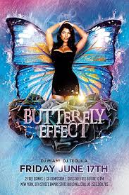 Butterfly Party Free Flyer Template Download Flyer Best