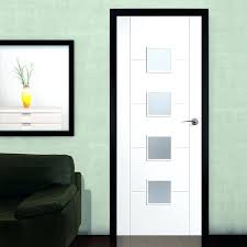 white internal doors with frosted glass white primed flush door with frosted safety glass white interior