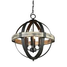 wood orb lighting parrot uncle 4 light chandelier home within wooden designs 46
