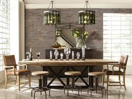 industrial style dining room lighting. lighting style dining table with assorted chairs repurposed and cage industrial smlfimage source room c