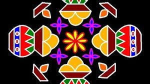 Step By Step Kolam Designs With Dots 100 Best Pongal Kolam Images Pongal Kolam Celebration