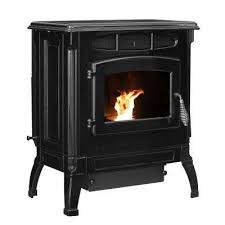 epa certified cast iron pellet stove black enameled porcelain with 40