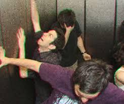 people stuck in elevator. researchers people stuck in elevator