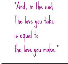 Beatles Quotes Love Simple The 48 Best The End The Beatles Images On Pinterest The Beatles