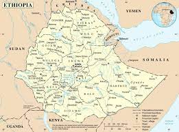 خريطة أثيوبيا - جولة