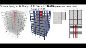 Analysis And Design Of Multistorey Building Pdf Seismic Analysis Design Of 10 Story Rc Building Using Etabs