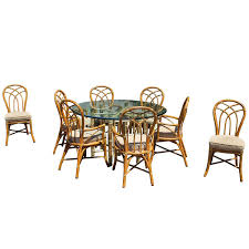 cool bamboo dining sets 27 mid century faux chairs set of 8 for