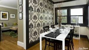 Wallpapering For A Living Room Wallpaper Accent Walls A Modern Decorating Idea Youtube