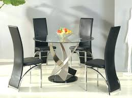 glass kitchen table and chairs modern round glass dining table dining tables small round glass dining