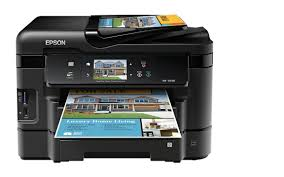 Amazon Com Epson Workforce Wf 3540 Wireless All In One Color