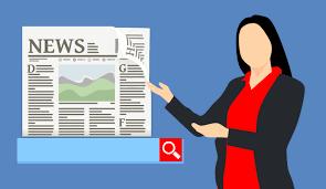 Free fotobanka : zprávy, článek, čtení, vyhledávání, on-line, aplikace,  žena, představovat, ukazující, reklama, reklamní, činidlo, obchodní,  podnikatelka, výběr, obsah, úspěch, text, sdělení, lidské chování, písmo,  práce, grafický design, konverzace ...