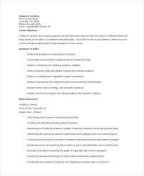 10+ Academic Curriculum Vitae Templates - Pdf, Doc | Free & Premium ...