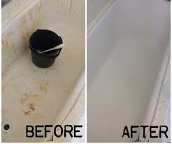 How To Turn Your Bleach Stained Red Bathtub White Again 4 Steps