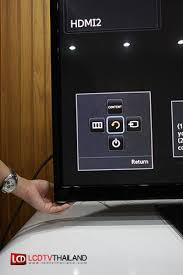 samsung tv buttons. modern keypad with joystick. bottom of the unit as in fig. (as figure above. press button once, screen below is shown samsung tv buttons