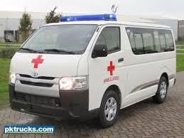 Toyota HiAce ambulance 4x2 Ambulance - pk trucks Holland