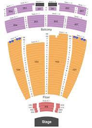 Cogent Robinson Center Music Hall Seating Chart Concert 2019