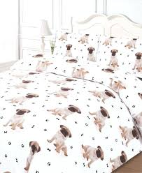 dog duvet covers pet duvet covers puppy duvet cover uk cute pug puppy dog print duvet