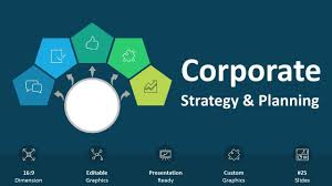 Planning A Presentation Template Corporate Strategy And Planning