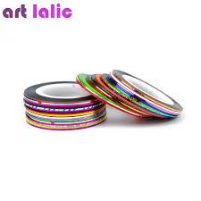 30Pcs 30 Multicolor Mixed Colors Rolls Striping Tape Line Nail Art ...
