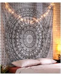 don t miss this deal on rajrang tapestry wall hanging dorm elephant throughout art plans 1 on tapestry art designs wall hangings with amazon com marubhumi tapestry wall hangings black and white hippie