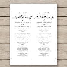 wedding program template 41 free word, pdf, psd documents Wedding Invitations Programs Free Download wedding program template 41 free word, pdf, psd documents download! wedding invitation software free download