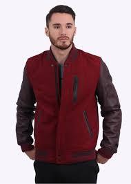 destroyer jacket team red heather deep burdy