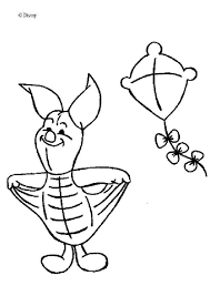 Small Picture Piglets kite coloring pages Hellokidscom