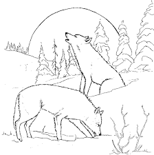 Small Picture Wolves Coloring Pages Angry Wolf Coloring Pages Print Coloring