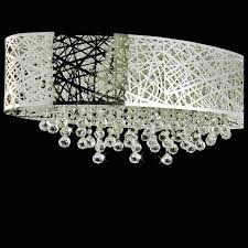 chair captivating flush mount chandelier with shade 21 0000862 32 web modern laser cut crystal oval